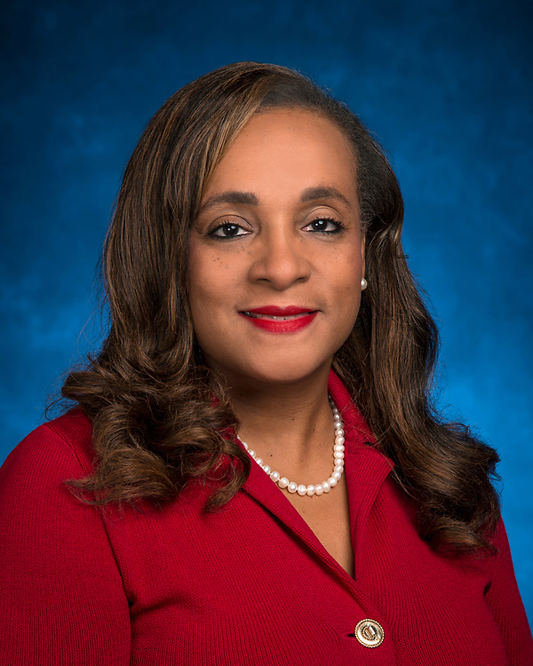 Houston ISD Trustee Rhonda Skillern-Jones poses for a photograph, January 17, 2017.