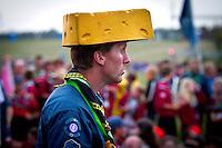 Cheese head. Photo: Mikko Roininen / Scouterna