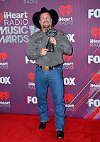 LOS ANGELES, CA. March 14, 2019: Garth Brooks at the 2019 iHeartRadio Music Awards at the Microsoft Theatre.<br /> Picture: Paul Smith/Featureflash