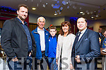 Some of the boatmen and film crew l-r: Martin Joy, Seanie Murphy, Ross and Mary Musgrave with Mally Chung at  the Premiere of the Star Wars The Force Awakens in Killarney Cinema on Thursday