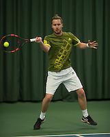 Rotterdam, Netherlands, Januari 28, 2017, ABNAMROWTT, Clubkampioenen,Jon Emmelkamp<br /> Photo: Tennisimages/Henk Koster