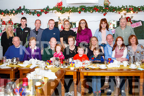 Lenora Moreton Naughton from Mountcollins celebrated her 40th. Birthday last Friday night in Leens Hotel Abbeyfeale.<br /> Seated: Patrick &amp; Noreen Naughton( Parents), James Moreton ( Husband), Si&uacute;n Moreton( Daughter), Lenora( birthday Girl), Ruair&iacute; (Son), Lorraine , Padraig , Cathal &amp; Danielle Naughton ,<br /> Joan Hickey (Sister).<br /> Back:Caroline Ahern, Jeremiah Naughton (nephew) Dominic Naughton (Brother), Patrick Naughton (Brother), Muireann Hickey (Niece), Caoimhe Hickey (Niece), Sh&oacute;na Hickey (Niece),<br /> Seamus Hickey( Brother in Law)