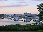 Boats in port. Harwichport, MA