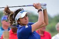 Gerina Piller (USA) wdatches her tee shot on 9 during round 2 of  the Volunteers of America Texas Shootout Presented by JTBC, at the Las Colinas Country Club in Irving, Texas, USA. 4/28/2017.<br /> Picture: Golffile | Ken Murray<br /> <br /> <br /> All photo usage must carry mandatory copyright credit (&copy; Golffile | Ken Murray)