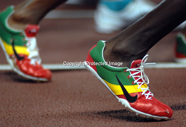 11th IAAF World Championships,Osaka 2007..Zapatillas (ETH).
