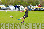 Abbeyfeale V Bruff Munster Women's Cup which took place on Sunday in the Grove Abbeyfeale.  Abbeyfeale's Catriona Davis putting over one of the many conversions of the day.