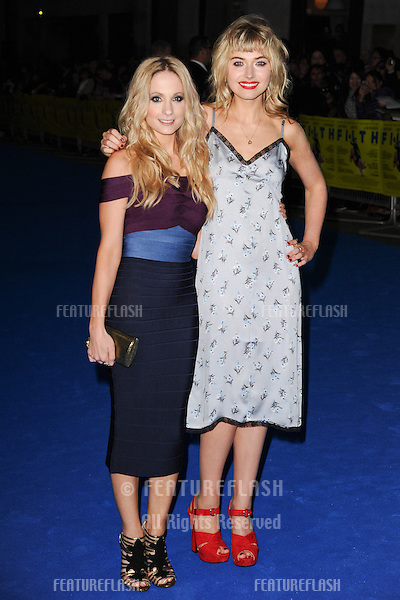 """Joanne Froggatt and Imogen Poots arriving for the """"Filth"""" premiere at the Odeon Leicester Square, London. 30/09/2013 Picture by: Steve Vas / Featureflash"""