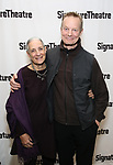 Martha Roth and Bill Irwin attends the Off-Broadway Opening Night of the Signature Theatre's 'Thom Pain' at the Signature Theatre on November 11, 2018 in New York City.