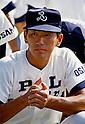 Kazuhiro Kiyohara (PL Gakuen), AUGUST 1985 - Baseball : Practice for the 67th National High School Baseball Championship Tournament at Koshien Stadium in Hyogo, Japan. (Photo by Katsuro Okazawa/AFLO)85 (PL)
