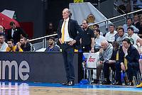 Khimki Moscow's coach Dusko Ivanovic during Euroleague match at Barclaycard Center in Madrid. April 07, 2016. (ALTERPHOTOS/Borja B.Hojas) /NortePhoto