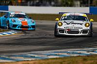 2017 Porsche GT3 Cup USA<br /> Sebring International Raceway, Sebring, FL USA<br /> Friday 17 March 2017<br /> 44, Greg Palmer, GT3G, USA, 2015 Porsche 991<br /> World Copyright: Jake Galstad/LAT Images<br /> ref: Digital Image lat-galstad-SIR-0317-14861