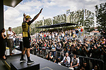 Dylan Groenewegen (NED) Team Jumbo-Visma wins the sprint finish of Stage 7 of the 2019 Tour de France running 230km from Belfort to Chalon-sur-Saone, France. 12th July 2019.<br /> Picture: ASO/Pauline Ballet | Cyclefile<br /> All photos usage must carry mandatory copyright credit (© Cyclefile | ASO/Pauline Ballet)