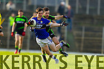 Paul Murphy Kerry in action against  Mayo in the first round of the National Football League at Fitzgerald Stadium Killarney on Sunday.