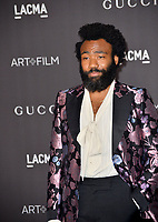LOS ANGELES, USA. November 03, 2019: Donald Glover at the LACMA 2019 Art+Film Gala at the LA County Museum of Art.<br /> Picture: Paul Smith/Featureflash