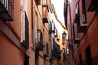 Streetscape in Toledo, Spain