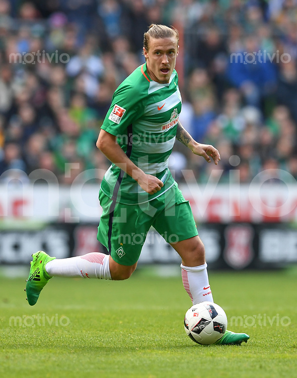 FUSSBALL     1. BUNDESLIGA      31. SPIELTAG    SAISON 2016/2017  SV Werder Bremen - Hertha BSC Berlin                          29.04.2017 Max Kruse (SV Werder Bremen)