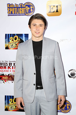 LOS ANGELES, CA - NOVEMBER 7: Mateus Ward at the Kids In The Spotlight's Movies By Kids, For Kids Film Awards at Fox Studios in Los Angeles, California on November 7, 2015. Credit: David Edwards/MediaPunch