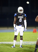 IMG Academy Ascenders Dylan Moses (6) during a game against the St. Frances Academy Panthers on November 12, 2016 at IMG Academy in Bradenton, Florida.  IMG defeated St. Frances 38-0.  (Mike Janes Photography)