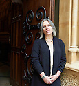 Francesca Kay, award winning Novelist and writer of The Long Room at The Oxford Literary Festival 2016.  pic Geraint Lewis