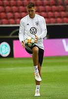 Niklas Süle (Deutschland Germany) am Ball - 10.06.2019: Abschlusstraining der Deutschen Nationalmannschaft vor dem EM-Qualifikationsspiel gegen Estland, Opel Arena Mainz