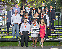 (Photo by Don Milici, Freelance)<br /> <br /> Class of 1998 group photo.<br /> Occidental College hosts its annual Alumni Reunion Weekend, June 22-24, 2018 on campus. This year, alumni from the classes of 1968, 1973, 1978, 1983, 1988, 1993, 1998, 2003, 2008 and 2013 gathered to reconnect with friends and family in the Oxy community.<br /> <br /> (Photo by Don Milici, Freelance)