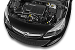 Car Stock 2015 Opel ASTRA Enjoy 5 Door Wagon 2WD Engine high angle detail view