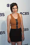 Lina Esco arrives at the CBS Upfront at The Plaza Hotel in New York City on May 17, 2017.