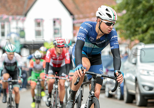 8th September 2017, Newmarket, England; OVO Energy Tour of Britain Cycling; Stage 6, Newmarket to Aldeburgh; Harry Tanfield of Bike Channel-Canyon