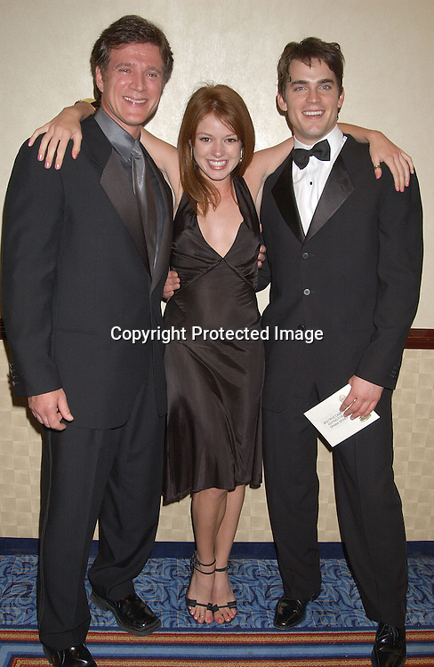 .Frank Dicopoulos & Aubrey Dollar& Mtthew Bomer at the 30th Annual Creative Craft Daytime EmmyAwards on May 10,2003 at the Marriott.Marquis in NYC..Photo by Robin Platzer, Twin Images.