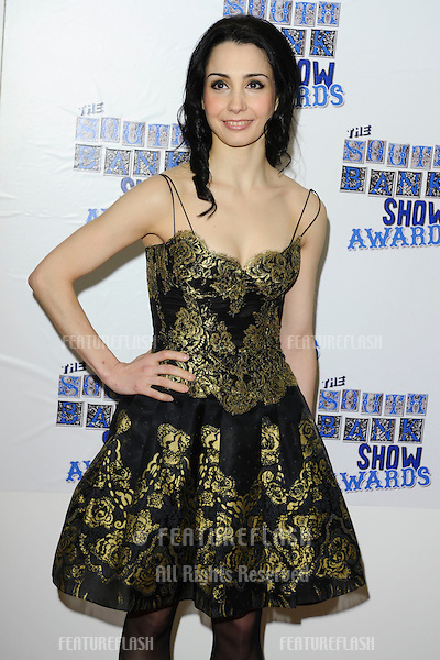 Tamara Rojo arriving for the South Bank Show Awards 2010, the last ever, at the Dorchester Hotel.  26/01/2010  Picture by: Steve Vas / Featureflash