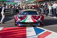 #51 AF CORSE (ITA) FERRARI 488 GTE EVO GTE PRO ALESSANDRO PIER GUIDI (ITA) JAMES CALADO (GBR) WINNER LMGTE PRO