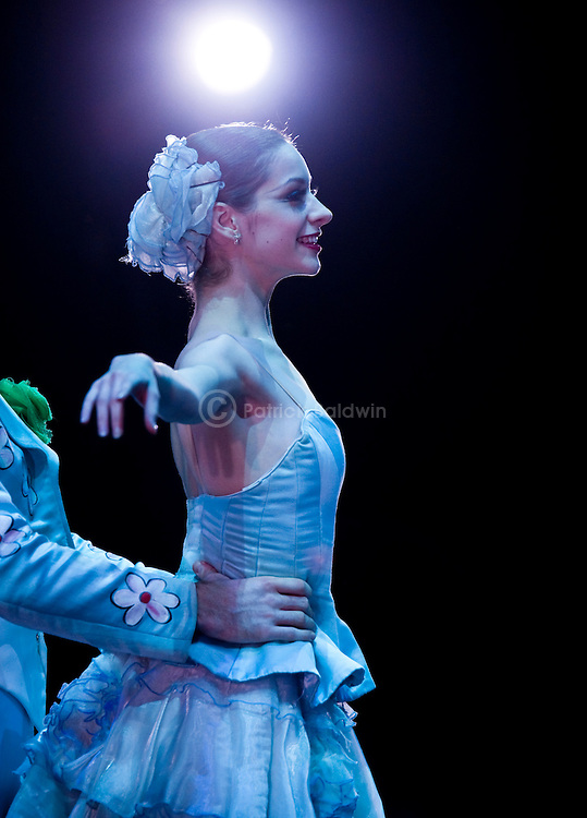 "English National Ballet. ""The Nutcracker"". Backstage. Laurretta Summerscales."