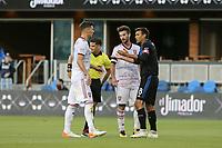 SAN JOSE, CA - JULY 06: Chris Wondolowski #8 during a Major League Soccer (MLS) match between the San Jose Earthquakes and Real Salt Lake on July 06, 2019 at Avaya Stadium in San Jose, California.