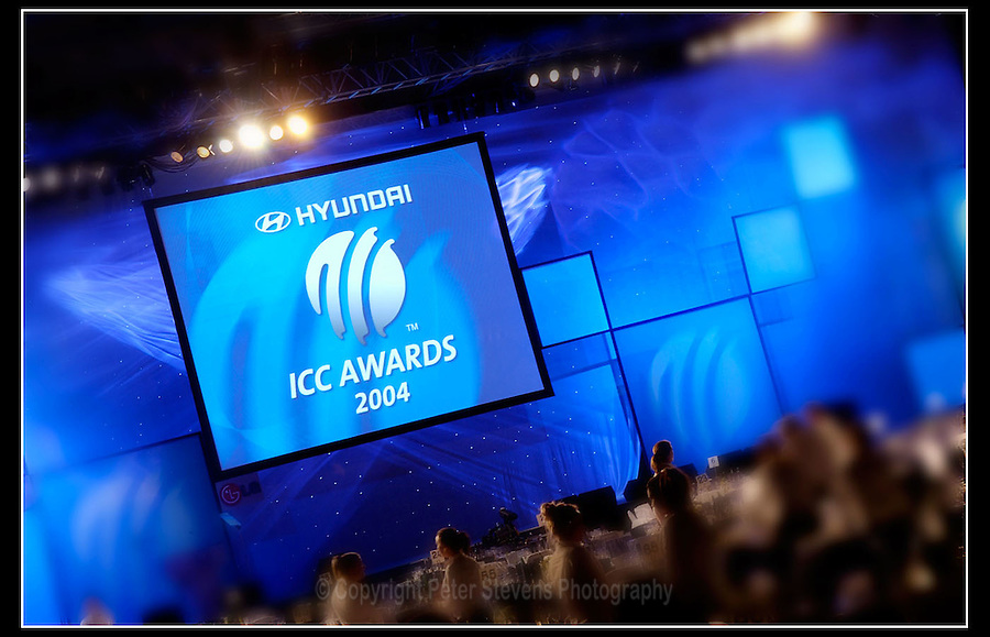 International Cricket Council (ICC) Awards 2004 - Alexandra Palace, London - 7 September 2004