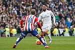Real Madrid´s Isco during 2015/16 La Liga match between Real Madrid and Sporting de Gijon at Santiago Bernabeu stadium in Madrid, Spain. January 17, 2015. (ALTERPHOTOS/Victor Blanco)