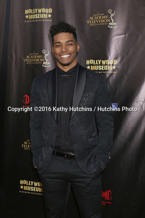 LOS ANGELES - APR 27:  Rome Flynn at the 2016 Daytime EMMY Awards Nominees Reception at the Hollywood Museum on April 27, 2016 in Los Angeles, CA