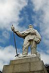 Statue of Robert Falcon Scott, Christchurch, New Zealand