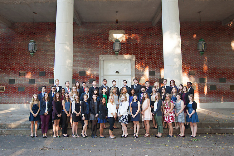 Cutler Scholars Group Portrait. ©Ohio University/ Photo by Kaitlin Owens