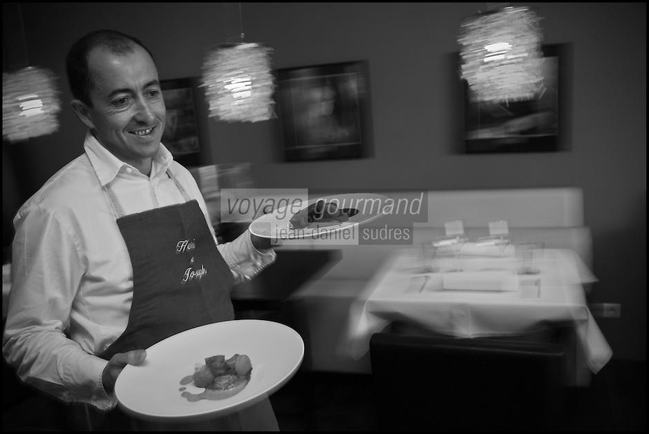 Europe/France/Bretagne/56/Morbihan/Lorient:  Philippe  Le Lay  du  Restaurant: Henri & Joseph [Non destiné à un usage publicitaire - Not intended for an advertising use]