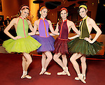 From left: Amy Potter, Leighton Jordan, Madison Morris and Beth Miller at the Ballet Ball at the Wortham Theater Saturday Feb. 20,2010. (Dave Rossman Photo)