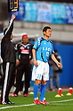 Kazuyoshi Miura (Yokohama FC), MARCH 6, 2011 - Football : Kazuyoshi Miura of Yokohama FC waits to come on as a substitute during the 2011 J.League Division 2 match between Yokohama FC 1-2 Kataller Toyama at NHK Spring Mitsuzawa Football Stadium in Kanagawa, Japan. (Photo by AFLO