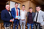 Enjoying the Kerry GAA awards night in the Ballygarry House Hotel on Saturday night.<br /> L-r, Joe Wallace, Fionan Mackessy, Trevor Wallace, Colin Sheehy and Eric Leahy.