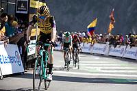 Steven Kruijswijk (NED/Jumbo Visma) finishing 3th place on top of the Tourmalet. <br /> <br /> Stage 14: Tarbes to Tourmalet (117km)<br /> 106th Tour de France 2019 (2.UWT)<br /> <br /> ©kramon