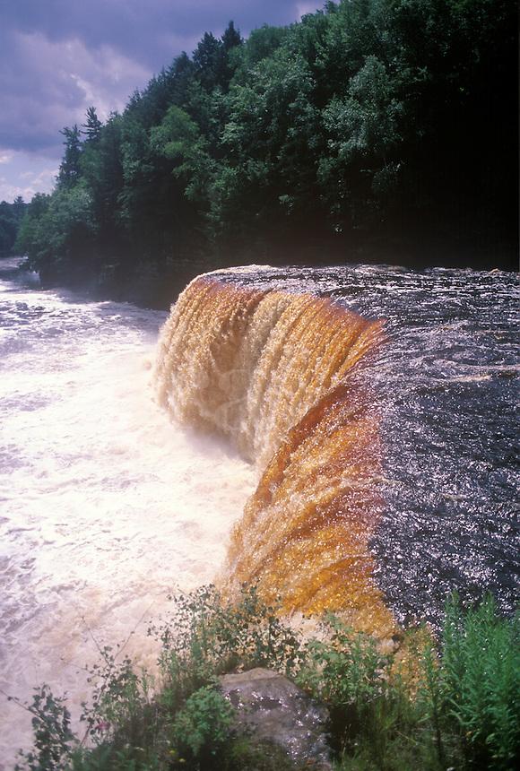 Michigan's Taquamenon Falls in the Upper Peninsola.