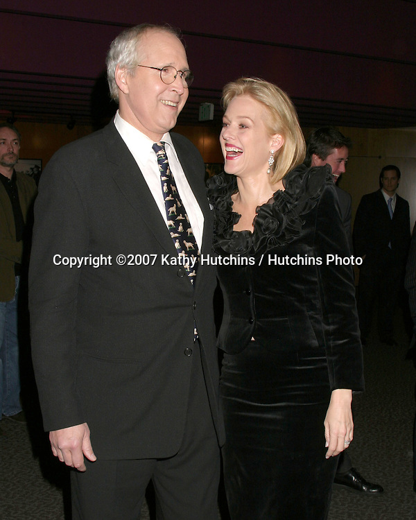"""Chevy Chase & Penelope Ann Miller.""""Funny Money"""" Premiere.Los Angeles, CA.January 18, 2007.©2007 Kathy Hutchins / Hutchins Photo...."""