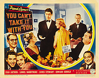You Can't Take It with You (1938) <br /> Lobby card<br /> *Filmstill - Editorial Use Only*<br /> CAP/MFS<br /> Image supplied by Capital Pictures