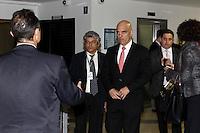 CURITIBA, PR, 21.06.2016 - JUSTIÇA-PR- O ministro da Justiça Alexandre de Moraes durante entrevista coletiva na sede da policia federal em Curitiba (PR) na noite desta terça-feira(21). (Foto:Paulo Lisboa/Brazil Photo Press)