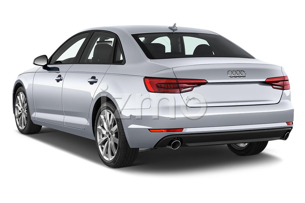 Car pictures of rear three quarter view of 2017 Audi A4 Premium 4 Door Sedan angular rear