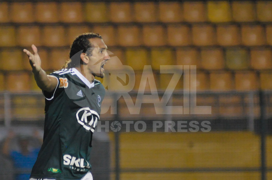 SÃO PAULO, SP, 23 DE FEVEREIRO DE 2012 - CAMPEONATO PAULISTA - PALMEIRAS x OESTE - Barcos durante partida Palmeirsx Oeste valida pela 9ª rodada do Campeonato Paulista no estadio Paulo Machado de Carvalho (Pacaembu), região oeste da capital paulista. (FOTO: LEVI BIANCO - BRAZIL PHOTO PRESS)
