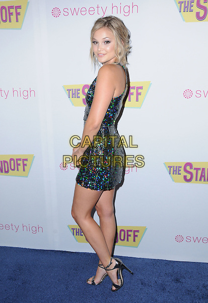 08 September 2016 - Los Angeles, California. Olivia Holt. &quot;The Standoff&quot; Los Angeles premiere held at Regal LA Live.  <br /> CAP/ADM/BT<br /> &copy;BT/ADM/Capital Pictures